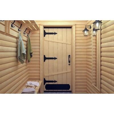 Выбираем деревянные двери для бани