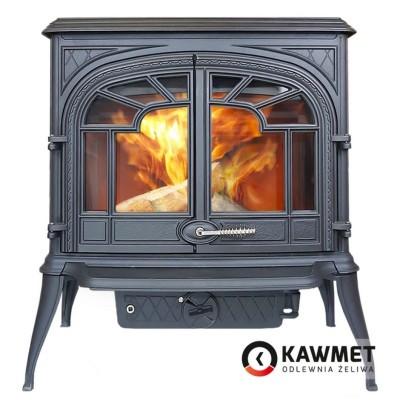 Чугунная печь KAWMET Premium S10 (13,9 кВт), Камины KAWMET