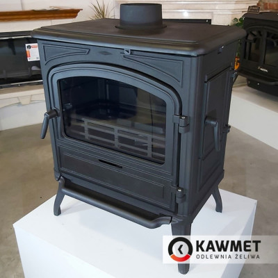 Чугунная печь KAWMET Premium S13 10 кВт, Камины KAWMET