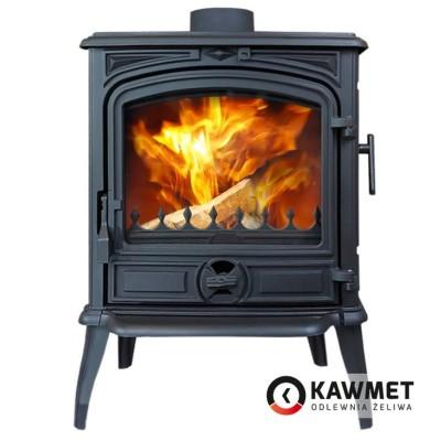 Чугунная печь KAWMET Premium S14 6,5 кВт, Камины KAWMET