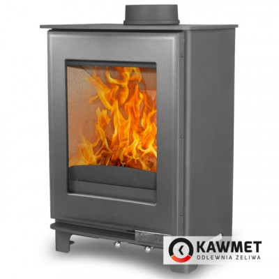 Чугунная печь KAWMET Premium S16 4,9 кВт, Камины KAWMET