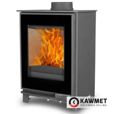 Чугунная печь KAWMET Premium S17 Dekor 4,9 kW, Камины KAWMET