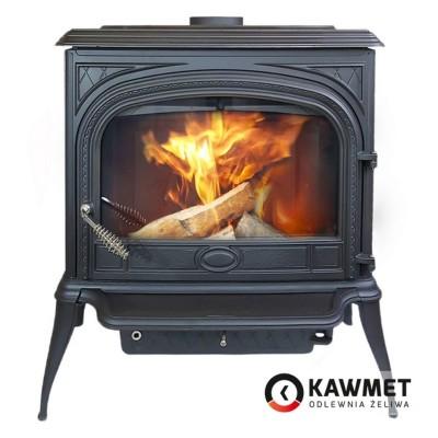 Чугунная печь KAWMET Premium S5 (11,3 кВт), Камины KAWMET