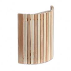 Абажур угловой комбинированный узкий